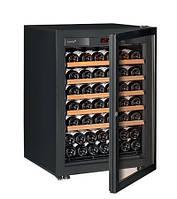 Винный шкаф EuroCave S-Pure-S Стеклянная дверь в раме, цвет - черный, максимальная комплектация