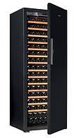Винный шкаф EuroCave S-Pure-L Сплошная дверь Black Piano, цвет - черный, максимальная комплектация
