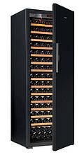 Винний шафа EuroCave S-Pure-L Суцільна двері Piano Black, колір - чорний, максимальна комплектація