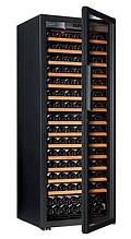 Винний шафа EuroСave S-Pure-L Скляні двері Full glass, колір - чорний, максимальна комплектація