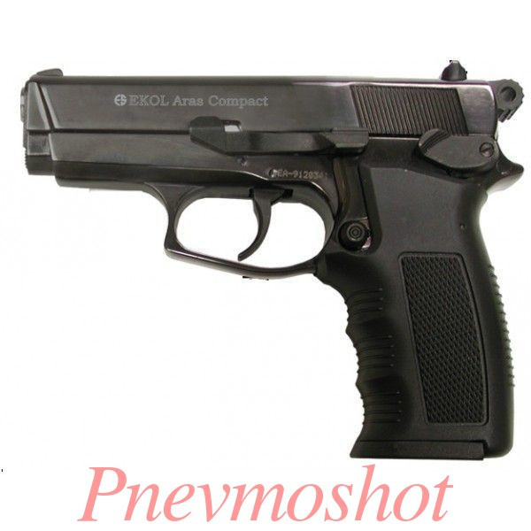 Стартовий пістолет Ekol Aras compact (Black)