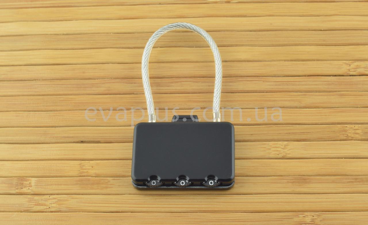 Навісний кодовий замок КД39 навісний (чорний)