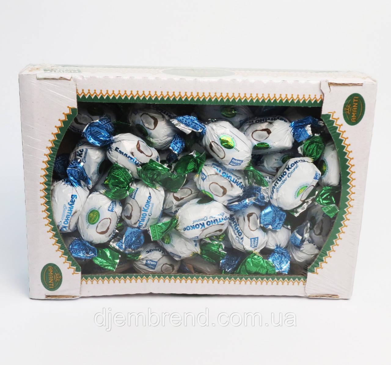 "Конфеты ""Баунти кокос"", Amanti, Украина, 1 кг."