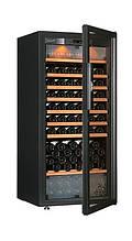 Винный шкаф EuroCave E-Pure-M Стеклянная дверь Full glass, цвет - черный, максимальная комплектация