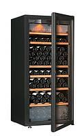 Винный шкаф EuroCave E-Pure-M Стеклянная дверь в раме, цвет - черный, стандартная комплектация