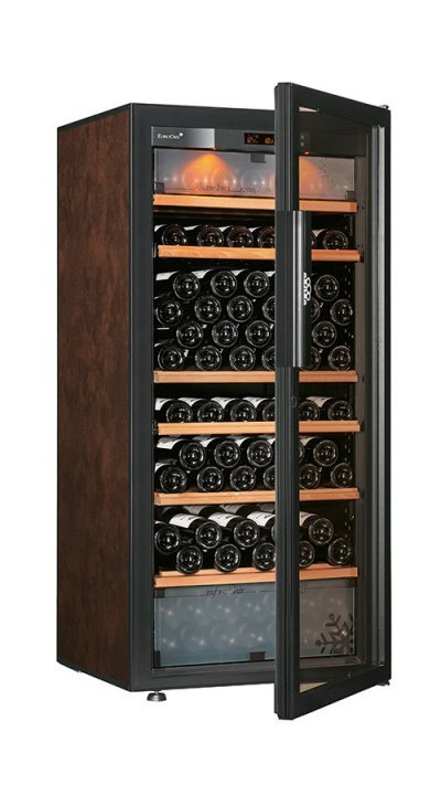 Винный шкаф EuroCave E-Pure-M Стеклянная дверь Full glass, цвет - буйвол, максимальная комплектация