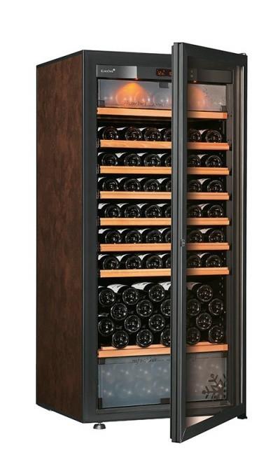 Винный шкаф EuroCave E-Pure-M Стеклянная дверь в раме, цвет - буйвол, максимальная комплектация