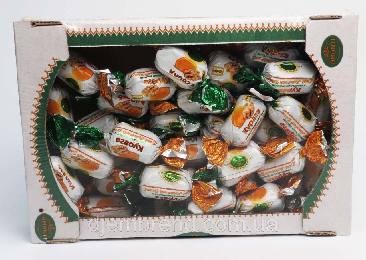 """Конфеты """"Курага с грецким орехом"""", Amanti, Украина, 1 кг."""