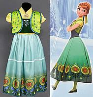 Карнавальный костюм для девочки Принцесса Анна Фроузен, р. 110 см. S, фото 1