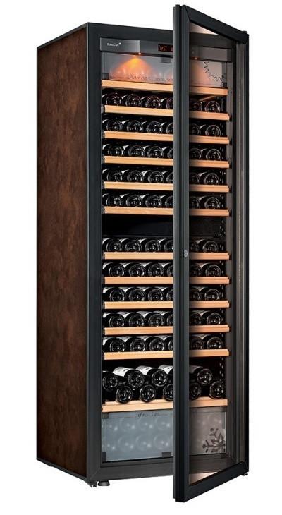 Винный шкаф EuroCave E-Pure-L Стеклянная дверь в раме, цвет - буйвол, максимальная комплектация
