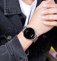 Skmei 1550 light   серебристые мужские оригинальные часы