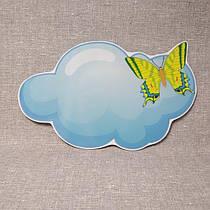 Облачко с бабочкой. Настенная декорация