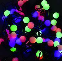 Гирлянда-штора светодиодная, НИТЬ ШАРИКИ, 60 LED лампочек, фото 1