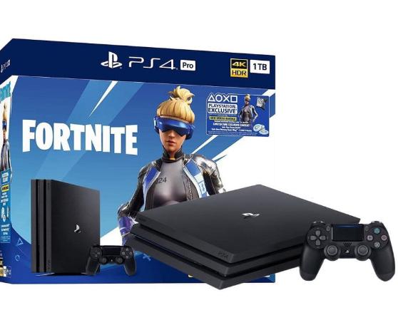 Консоль SONY PlayStation 4 Slim 500 ГБ + Fortnite + 2 х DualShock