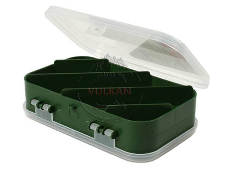Рыбацкая двухсторонняя коробка (10 ячеек) AQUATECH 2510, фото 2