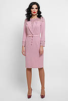 Лиловое платье с кружевом Леония, S, M, L, XL