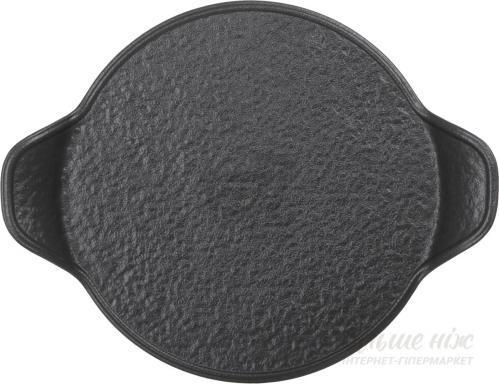 Блюдо с ручками Lavastone Black 29,5х38 см