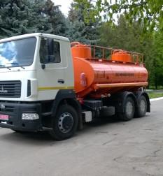 Автоцистерна АПЗ-12-6312B5 на шасси МАЗ