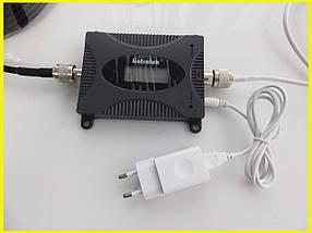 GSM репитер, усилитель сигнала мобильной - сотовой связи LTE. Официально в Украине. Для дачи, дома, офиса, фото 3