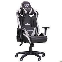 Кресло VR Racer Expert Wizard черный/серый TM AMF, фото 2