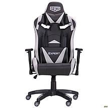 Кресло VR Racer Expert Wizard черный/серый TM AMF, фото 3