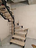 Лестница из металла в квартиру, дом, котедж. Универсальный каркас лестницы.
