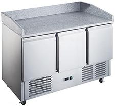 Холодильный стол для пиццы Hurakan hkn-gxpz3gr, фото 2