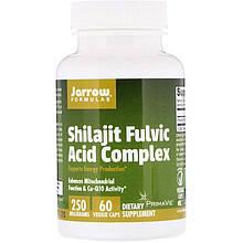"Комплекс с мумиё Jarrow Formulas ""Shilajit Fulvic Acid Complex"" филавитовой кислотой, 250 мг (60 капсул)"
