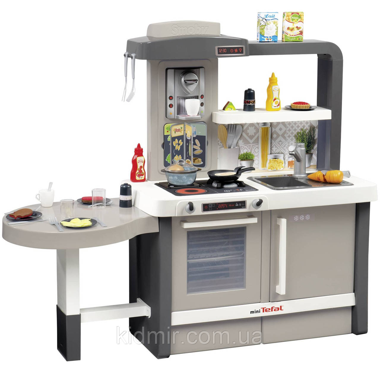 Кухня интерактивная Тефаль эффект кипения, звук и аксессуары Tefal Smoby 312300