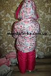 Комбинезон костюм зимний раздельный  цвета в ассортименте, фото 4