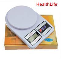Кухонные весы Electronic SF400 до 10 кг точные весы столовые весы для рынка и дома