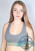 Спортивный женский топ GreeNice с вставными подушками, фото 1