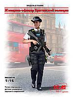 Офицер Британской Полиции. Пластиковая фигура. 1/16 ICM 16009