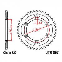Звезда задняя JT JTR897.52SC