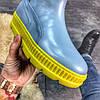 "Женские зимние ботинки Puma By Rihanna Chelsea Sneakers Boot ""blue limeade"", фото 2"