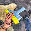 "Женские зимние ботинки Puma By Rihanna Chelsea Sneakers Boot ""blue limeade"", фото 4"