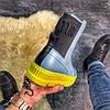 "Женские зимние ботинки Puma By Rihanna Chelsea Sneakers Boot ""blue limeade"", фото 6"