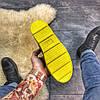 "Женские зимние ботинки Puma By Rihanna Chelsea Sneakers Boot ""blue limeade"", фото 7"