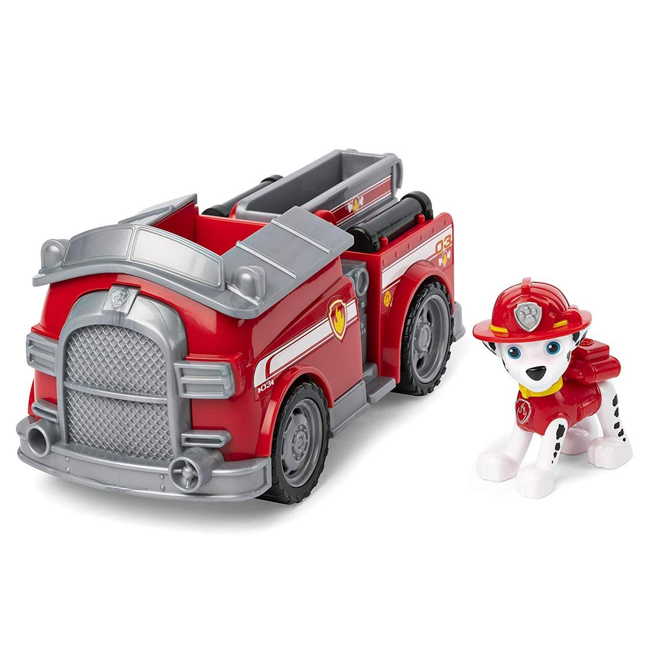 Paw Patrol Щенячий патруль Маршал и Трансформирующая пожарная машина ОРИГИНАЛ от spin master