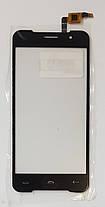 Сенсор (тачскрин) для Homtom HT37 черный, фото 3