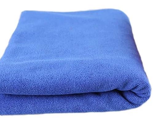 SGCB SGGD071 Microfiber Towel Blue Микрофибровое полотенце без оверлока синее 40х40 см