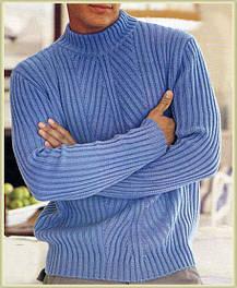 Теплые мужские свитеры