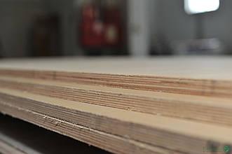 Фанера березова шпонована Білим Ясеном 5 мм - 1,25х2,5 м