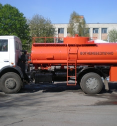 Автоцистерна АТЗ-10-5337А2 на шасси МАЗ