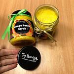 """Органический скраб для лица и тела с кокосовым маслом """"Манго-персик"""" Top Beauty, фото 2"""