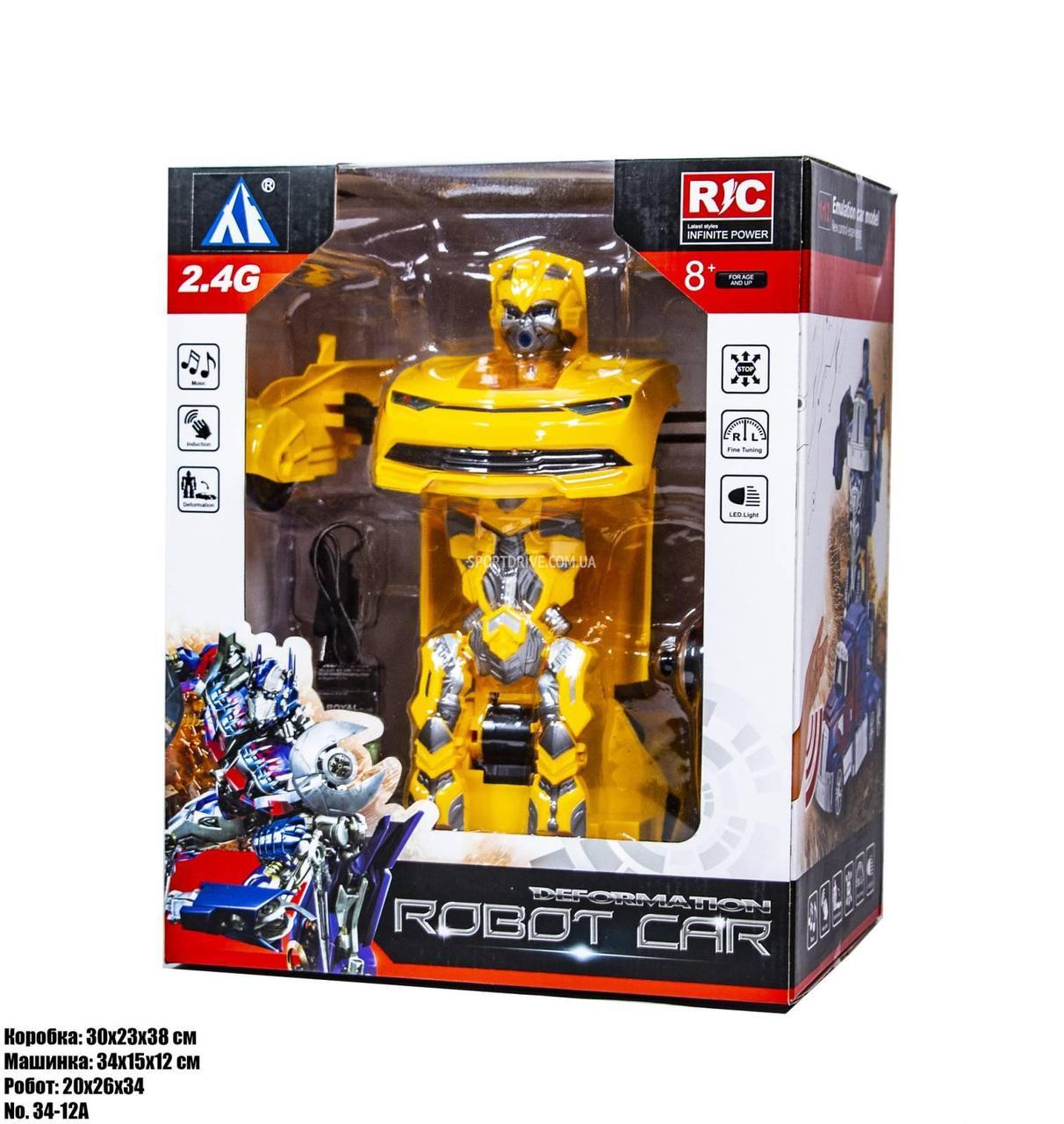 Робот-машинка Бамблби Трансформер 34-21A