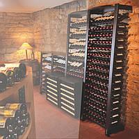 Стеллаж для хранения вина Eurocave Modulosteel 1 модуль
