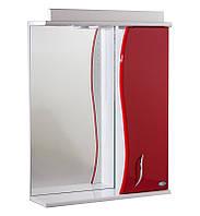 Зеркало АкваСан с подсветкой 55 см Красное, фото 1