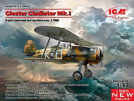 Gloster Gladiator Mk.I, Британский истребитель IIМВ. 1/32 ICM 32040
