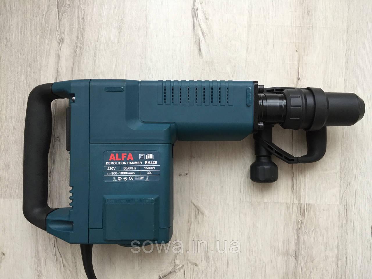 ✔️ Электрический отбойник AL-FA RH228